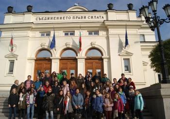 Erasmus+ projekto narių viešnagė Bulgarijoje