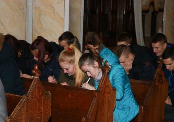 Dailės istorijos pamoka Šilalės  bažnyčioje