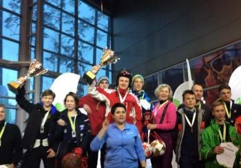 Gimnazistai Olimpinio kalnų slidinėjimo nugalėtojai
