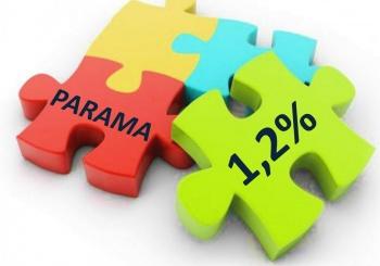 1,2 proc. parama gimnazijai